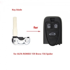 Smart Key Blade Replacement for ALFA ROMEO 159 Brera 156 Spider