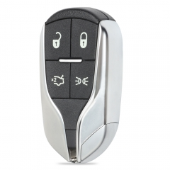 Replacement Smart Remote Key Shell Case 4 Button Light Button for Maserati - FCC: M3N-7393490