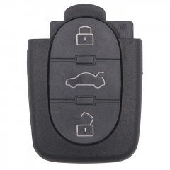 Remote Shell 3 Button for Audi Small Battery Position