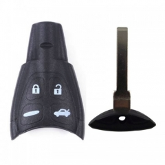 Remote key Shell 4 Button for SAAB