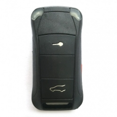 5PCS Flip Remote Key Shell 2 Button for Porsche