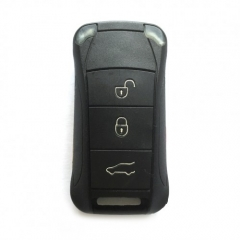 5PCS Flip Remote Key Shell 3 Button for Porsche