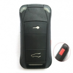 5PCS Flip Remote Key Shell 2+1 Button for Porsche