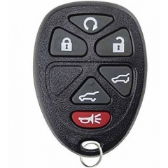 Remote Control Key 6 Button for Cadillac GMC Chevrolet OUC60270