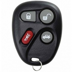 Remote Key 4 Button for Cadillac Buick Chevrolet Pontiac FCC ID: KOBUT1BT