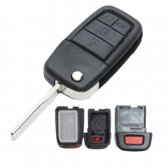 Flip Remote Key Shell 4+1 Button For Pontiac G8 2008-2009