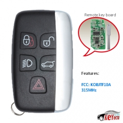 Remote Key 5 Button 315Mhz for Land Rover Range Rover 2002-2006