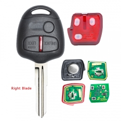 Remote Key 3 Button 433MHz ID46 Chip for Mitsubishi Lancer Outlander