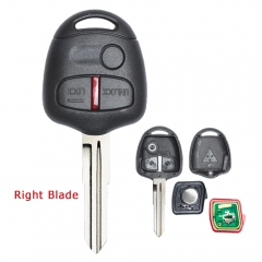 Remote Key 3 Button 315MHz ID46 Chip for Mitsubishi Lancer Outlander