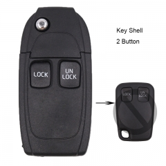 Folding Remote Key Shell 2 Button for VOLVO S40 S60 S70 S80 S90 V40 V70 V90 XC70 XC90