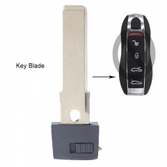 Smart Remote Emergency Key Blade Insert for Porsche Cayenne Panamera 911 Prox