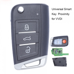 Xhorse Universan Smart Proximity Key 3B MQB Type for VVDI Key Tool , VVDI Mini Key Tool, VVDI2