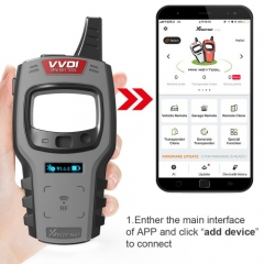 Xhorse VVDI Mini Key Tool Remote Key Programmer Support IOS and Android for US EU Southeast Asia Car