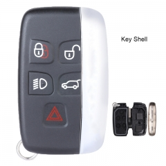 Smart Remote Car Key Shell Case 5 Button for Land Rover LR2 LR4 Range Rover Sport Evoque