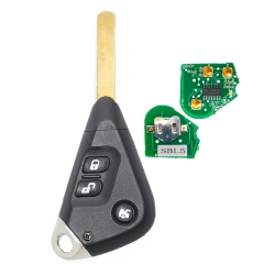 Remote Car Key Fob 3 Button 433MHz 4D62 for Subaru Outback Liberty Impreza 2003-2010 P/N: 57497AG153