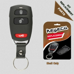 Replacement Remote Key Fob Shell Case 2+1 Button for Hyundai Kia SV3-10006023