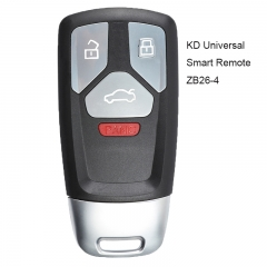 KEYDIY ZB26-4 KD Smart Universal Remote Key 4B for KD900 KD-X2 Mini KD Key Tool