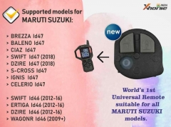 XHORSE VVDI Flip Key Universal Iversal Remote 2 Buttons Wirlless for Suzuki Style (English Version)