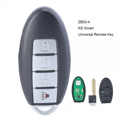 KEYDIY ZB03-4 KD Smart Universal Remote Key 4B for KD900 KD-X2 Mini KD Key Tool
