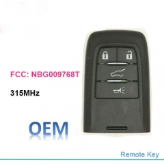 OEM Remote Key Fob 315MHz for SAAB 9-4x 9-5 2010 2011 FCC ID: NBG009768T
