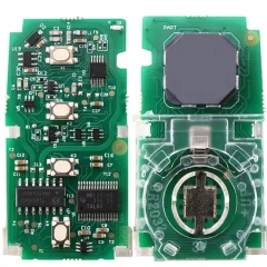 Keyless-Go Smart Remote PCB Board 3+1 Button FSK 434.4MHz Board # 61A651-0101 ID88 Chip TOY12 Blade for Malaysia Toyota F43