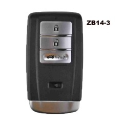 KEYDIY Universal 3 Buttons Smart Key for KD-X2 Car Key Remote Replacement Fit for More than 2000 Models ZB14-3