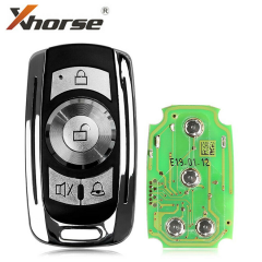 XHORSE VVDI2 Universal 4 Buttons Wire Remote Key Garage Door English Version for VVDI Key Tool XKGD10EN