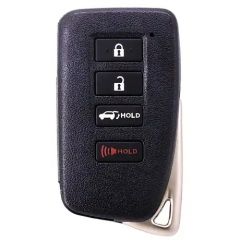 Smart Remote Control Key Case 3+1 Button for Lexus  (SUV) TOY12 (Matte Surface)