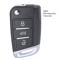 KEYDIY Universal 3 Buttons Smart Key for KD-X2 Car Key Remote Replacement Fit for More than 2000 Models ZB15