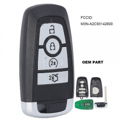 OEM Smart Proxy Keyless Entry Remote 4 Button 433MHz / 902MHz / 868MHz fob Transmitter for Ford Mustang FCC ID: M3N-A2C93142600